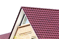 Building a new roof Royalty Free Stock Image