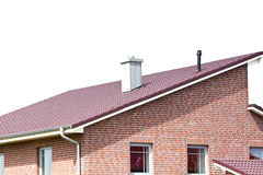 Building a new roof Stock Image