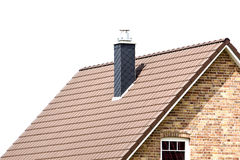 Building a new roof Stock Images