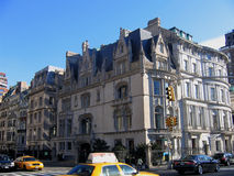Building in New York. Picture of the building in New York City Royalty Free Stock Photos