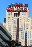 Building with New Yorker sign Stock Photos