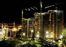 Building at night Royalty Free Stock Photo