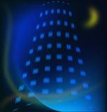 Building night background Stock Image