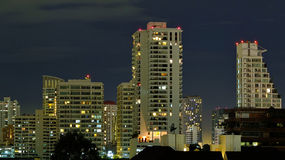 Building in night. Building in the night time Royalty Free Stock Image