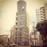 Building in Nishiazabu. Interesting building in Nishiazabu Royalty Free Stock Photography