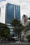 Building Nove de Julho Street moderne Image stock