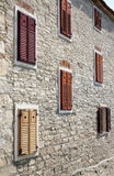 Building in Novigrad, Croatia Royalty Free Stock Image