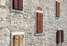 Building in Novigrad, Croatia Stock Photography