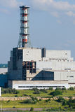 The building of the nuclear power plant unit. Stock Images