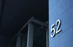 Building Number 52 Royalty Free Stock Photos