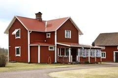 Building in Nusnas. Dalarna county. Sweden Stock Image