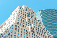 Building in NY. While walking the streets NY royalty free stock photos