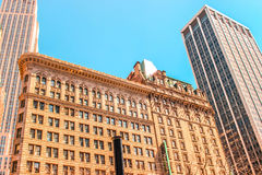 Building in NY. While walking the streets NY royalty free stock photo