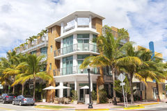 Building in Ocean Drive. Miami Beach Stock Image
