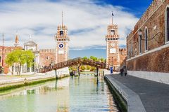 Free Building Of Arsenal In Venice, Italy Royalty Free Stock Photos - 93492238