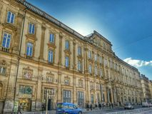 The building ofbthe musee des beaux arts, lyon old town, France Stock Images