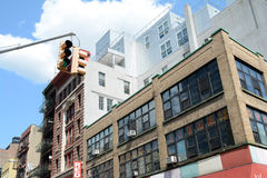 Building. An office building in Chinatown new York Stock Images