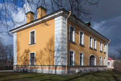 Building officer guardhouse. In Peter and Paul Fortress Royalty Free Stock Photography