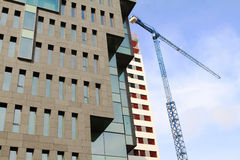Building offices in Hospitalet, Barcelona Royalty Free Stock Photos