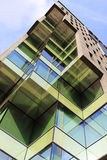 Building offices in Hospitalet, Barcelona Stock Images