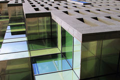 Building offices in Hospitalet, Barcelona Royalty Free Stock Image