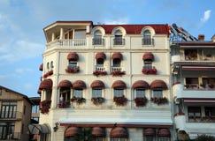 Building in Ohrid, Macedonia Stock Photos