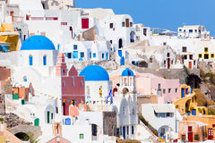 Building at Oia Santorini Stock Photography