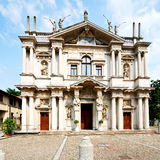 Building old architecture in italy europe milan religion       a Stock Photos
