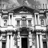 Building old architecture in italy europe milan religion       a Royalty Free Stock Photo