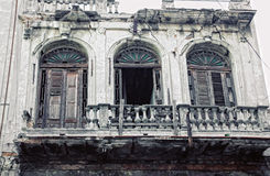 Building in old havana Stock Image