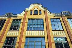 Building of old printing house in Poznan Royalty Free Stock Images