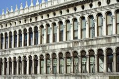 Building of the Old Procuratie in Venice Stock Photography