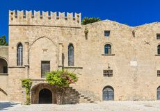 Building in the old town. Rhodes. Greece Stock Photo