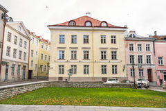 Building in the old town of Tallinn, Estonia Royalty Free Stock Photography
