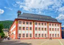 The building of the old University of Heidelberg. Stock Photo
