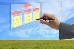 Building organization and recruitment concept Royalty Free Stock Photos