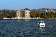 Building in the Ottoman style on the Bosphorus Stock Photo