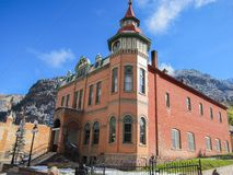 Building in Ouray Stock Photo