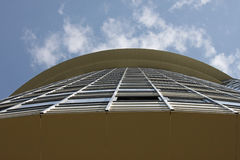 Building over blue sky Stock Photography