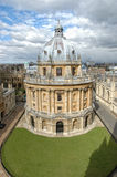 Building of Oxford. Took on the tower near it. I cannot remember what it is. It should belong to a college Royalty Free Stock Images