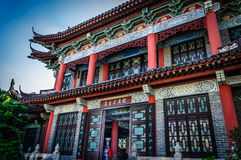 Building. A packaging color is rich of Chinese ancient buildings Royalty Free Stock Photography