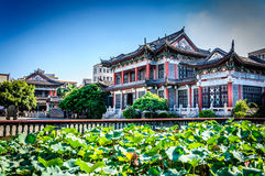 Building. A packaging color is rich of Chinese ancient buildings Royalty Free Stock Images