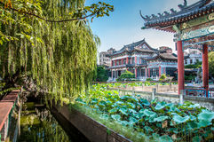 Building. A packaging color is rich of Chinese ancient buildings Stock Photo