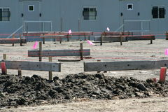 Building pad site Stock Photography