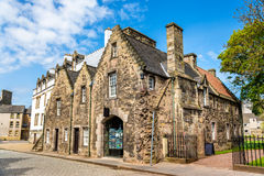 Building at the Palace of Holyroodhouse in Edinburgh Stock Photography