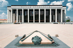 Building Of The Palace Of Republic In Minsk Royalty Free Stock Photo