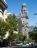 Building Palacio Salvo in Montevideo, Uruguay Stock Images
