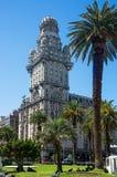 Building Palacio Salvo in Montevideo, Uruguay Stock Photography