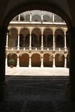 Building of Palazzo dei Normanni at Palermo on Sicily Royalty Free Stock Images