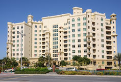 Building at Palm Jumeirah, Dubai Stock Photos